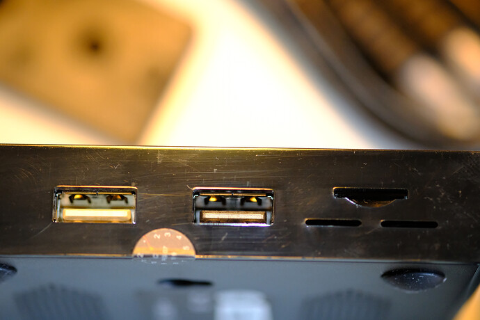 Left side of the Vero 4k